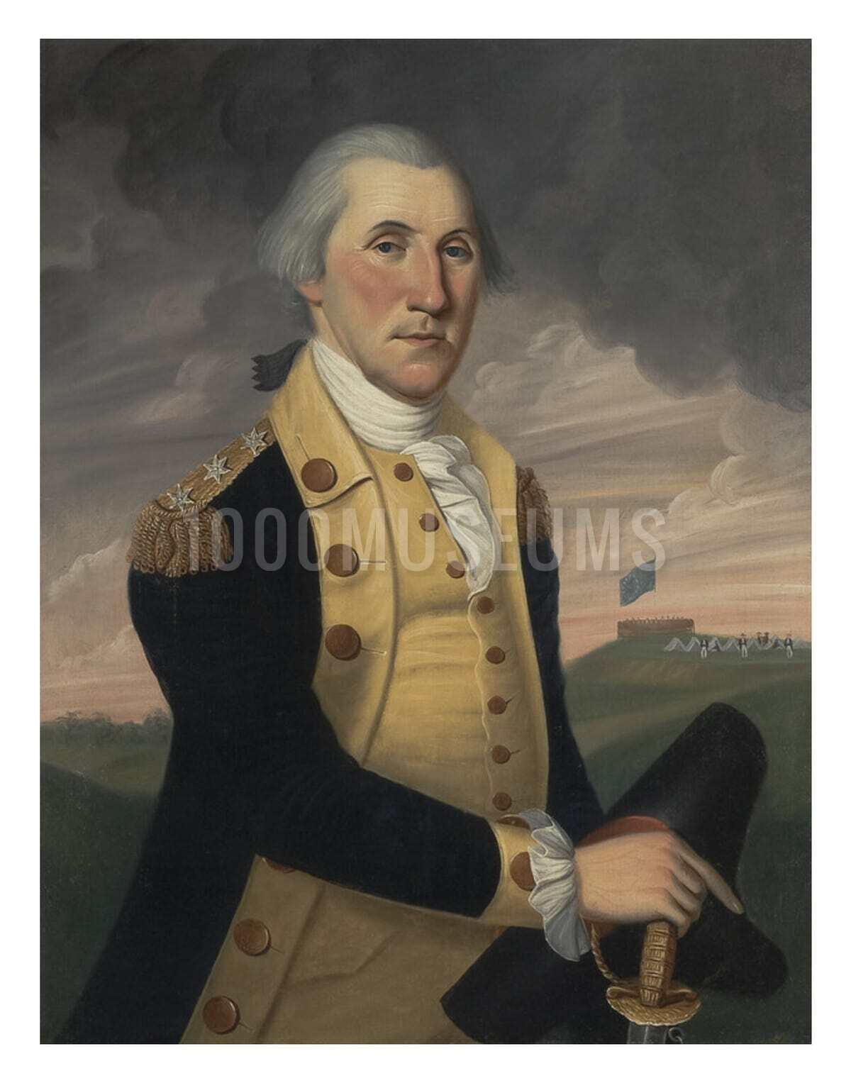 New 8x10 Photo George Washington 1st Commander-in-Chief of the United States
